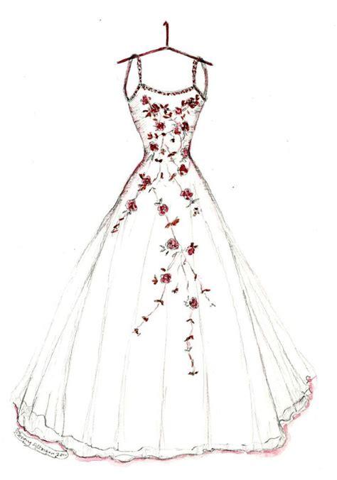 dress sketches ideas  pinterest fashion