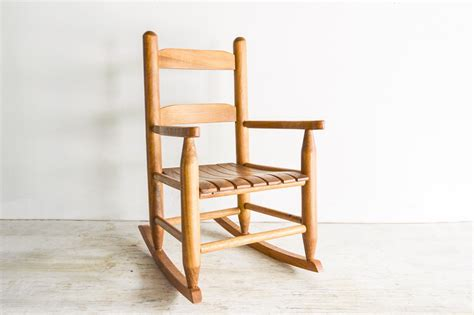 child s rocking chair child s wooden chair by littlecows