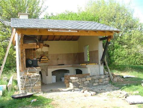 construire cuisine d été realisation d 39 une cuisine d 39 ete et four à bois