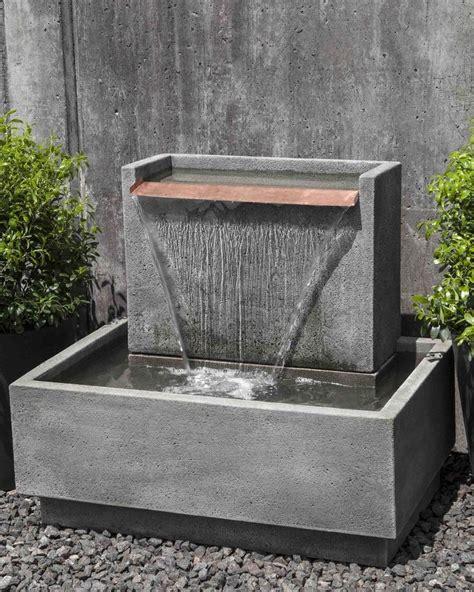 best 25 modern outdoor fountains ideas on