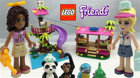 Lego Friends Jungle Rescue Base Review 41038  Youtube