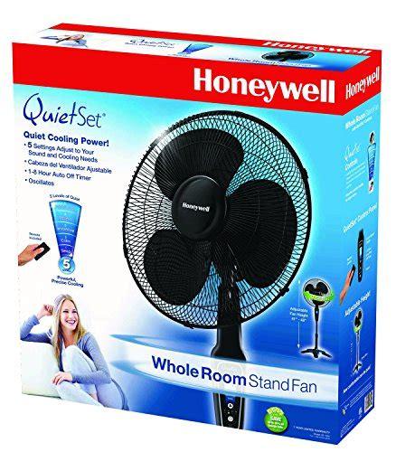 honeywell quietset stand fan honeywell hs 1655 quietset 16 quot stand fan black top 10