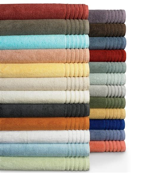 Bathroom Towel Colors by Macy S Hotel Collection Bath Towels Cloud Terracotta