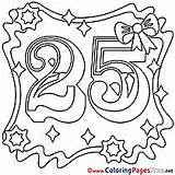 Coloring Birthday Pages Happy Years 1291 Hits sketch template