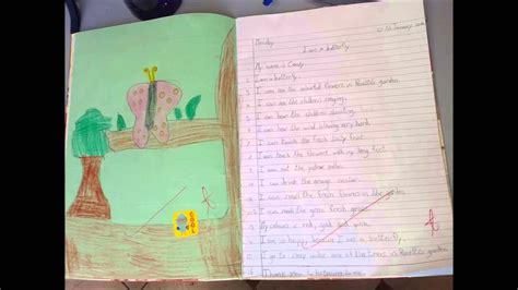 year  butterflies english creative writing youtube