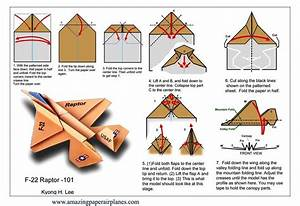 How To Make A Paper Airplane Folding Instructions  4
