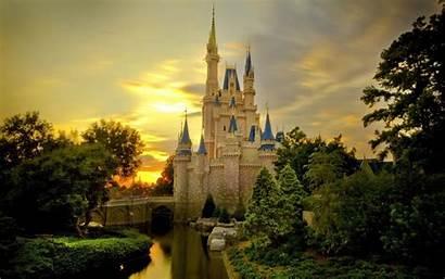 Castle Fantasy Wallpapers Architecture Castles Desktop Disney