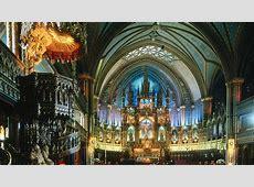 NotreDame Basilica, Montreal, Canada Wallpaper #34308
