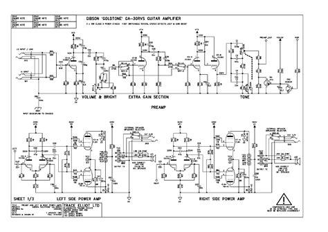 Gibson Garvs Amplifier Schematic Service Manual Download