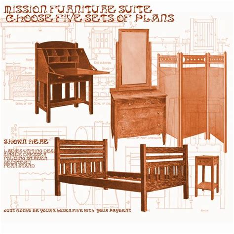 items similar  woodworking furniture plans mission style