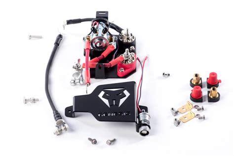 polaris rzr   dual battery kit