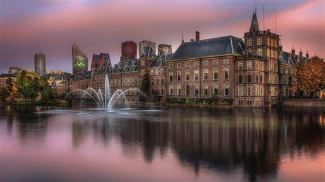 binnenhof   complex   city   city hague netherlands  ultra hd desktop wallpapers