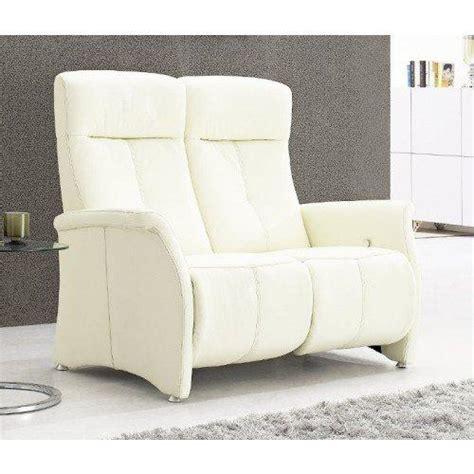 canape relax cuir blanc kingston canape relax cuir vachette blanc