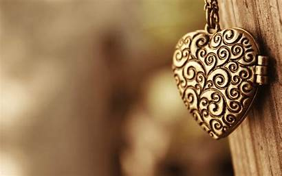 Necklace Heart Wallpapers Pendant Background Locket Hdwallsource