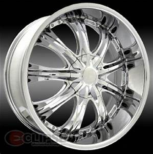 20 inch ELR15 chrome wheels PT Cruiser Cavalier Neon