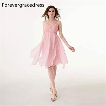 Lace Short Cocktail Dresses Sleeveless Shoulder Aliexpress