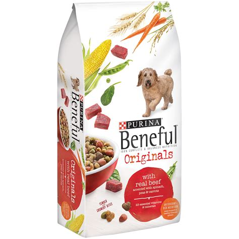 beneful originals  beef dog food  lb bag