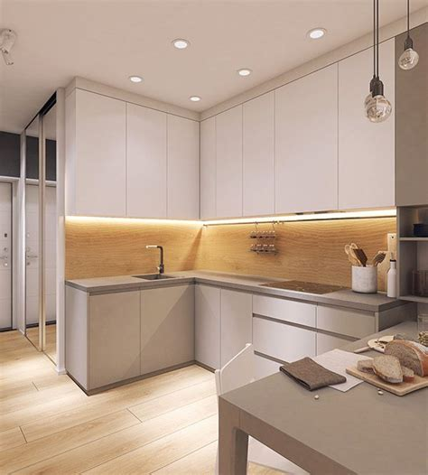 Kitchen Designed Comfort by Moderrn Apartment In Comfort Town On Behance Room Decor