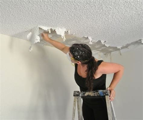 joy  popcorn ceiling removal removing popcorn
