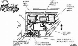 Cadillac Body Control Module Location
