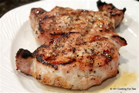 grilled pork chops grilled pork chops 101 cooking for two