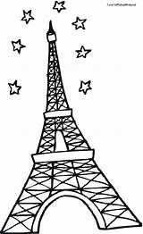 Eiffel Tower Coloring Pages Paris France Para Sheet Drawing Torre Clipartbest Colorear Printable Tour Getcoloringpages Clipart sketch template