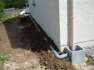 évacuation Eaux Pluviales Maison Individuelle : l assainissement la construction de notre maison ~ Dailycaller-alerts.com Idées de Décoration