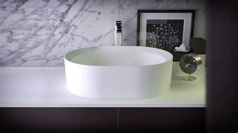 glowing countertop glow countertop washbasin kniefco