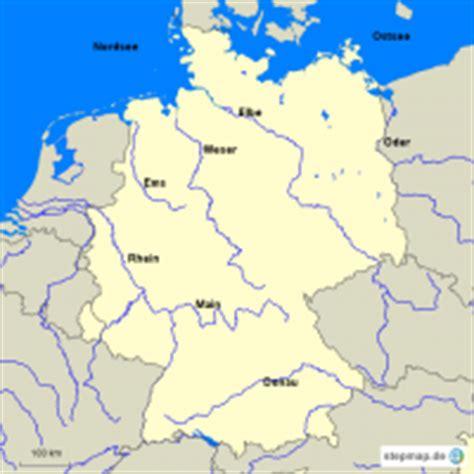 Stumme Karte Deutschland Flüsse.Herunterladen Stumme Karte Deutschland Flüsse Gebirge Städte
