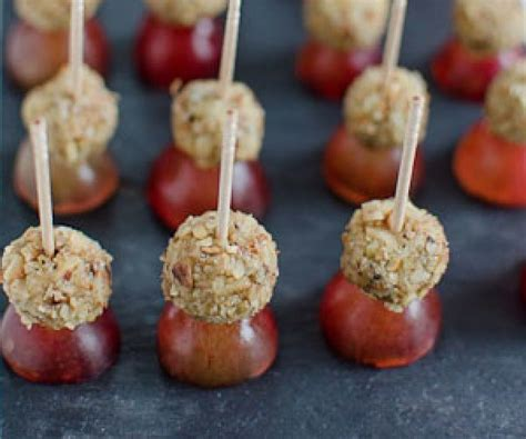 canape recipes to freeze warning these blue cheese walnut and grape