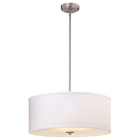 white drum pendant light large modern drum pendant light with white shade ebay
