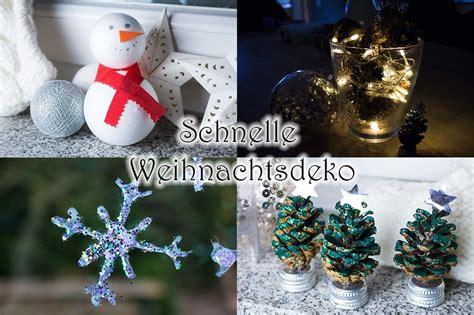 Weihnachtsdeko Selber Machen Draußen by Diy Ganz Schnelle Weihnachtsdeko Kreativ