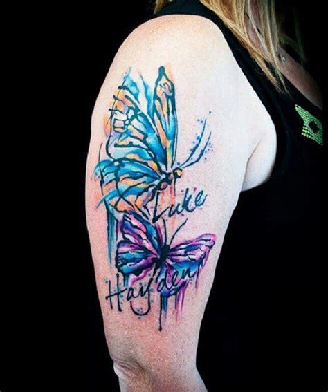butterfly sleeve tattoo ideas  pinterest lily