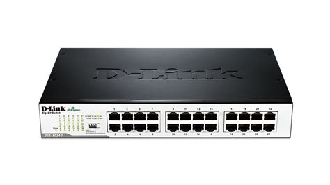 24 port gigabit unmanaged desktop rackmount switch dgs