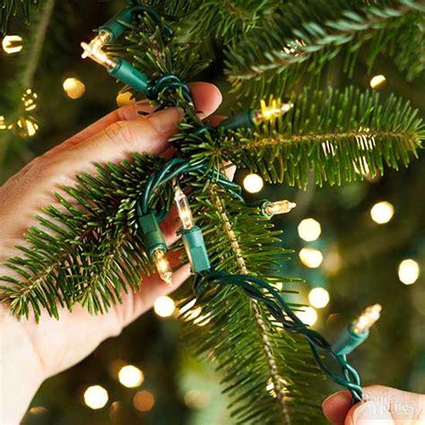 put lights   christmas tree