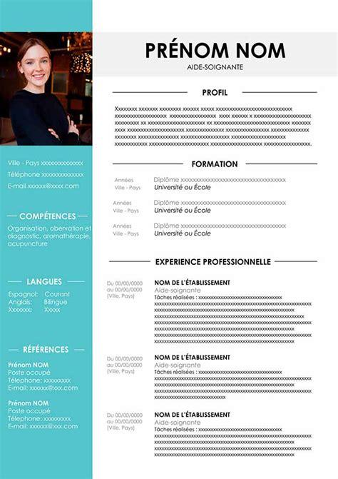 Bon Cv Exemple by Cv Aide Soignant 224 T 233 L 233 Charger Gratuit Pour Word Exemple Cv