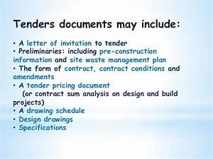 quantity surveying drawing fnbe 2014 With tender specification template