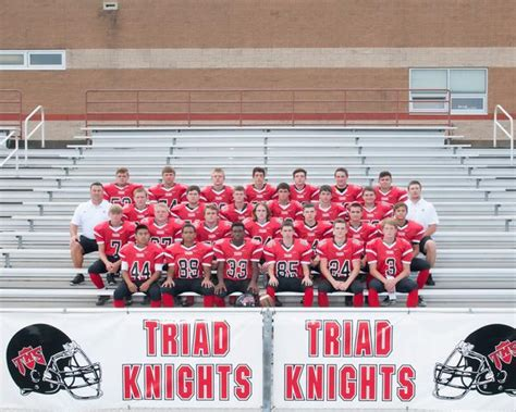 triad high school boys junior varsity football fall schedule