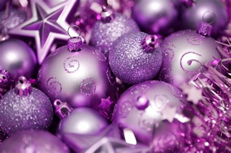 Purple Ornaments Wallpaper by Photo Of Purple And Pink Ornaments Free