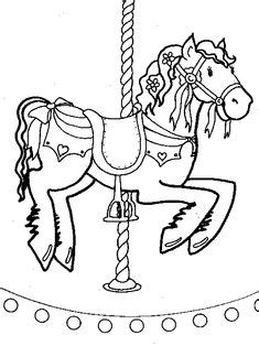 10 Merry go round ideas   merry go round, coloring pages