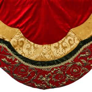velvet tree skirt jpg 500 215 500 holidays for the home pinterest