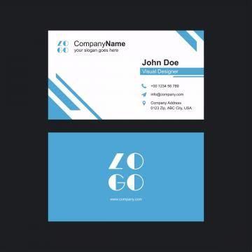 modern clean  creative business card vector template