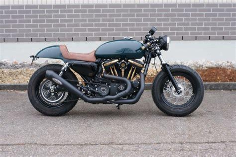 cafe racer kaufen motorrad occasion kaufen harley davidson xl 1200 x forty