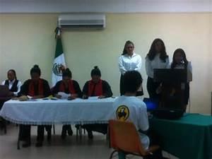 Alumnos Del Cobay Progreso Representan Un Juicio Oral