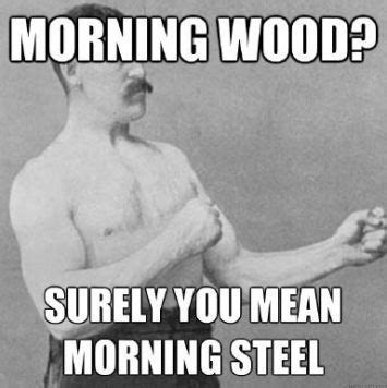 Morning Wood Meme - get morning wood free ebook to help cure your erectile dysfunction cure my erectile dysfunction