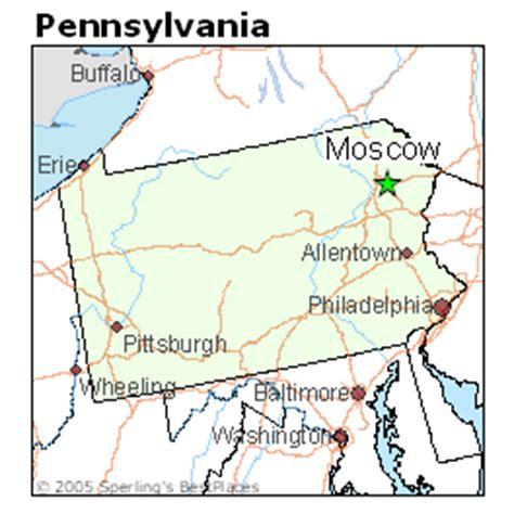 places    moscow pennsylvania