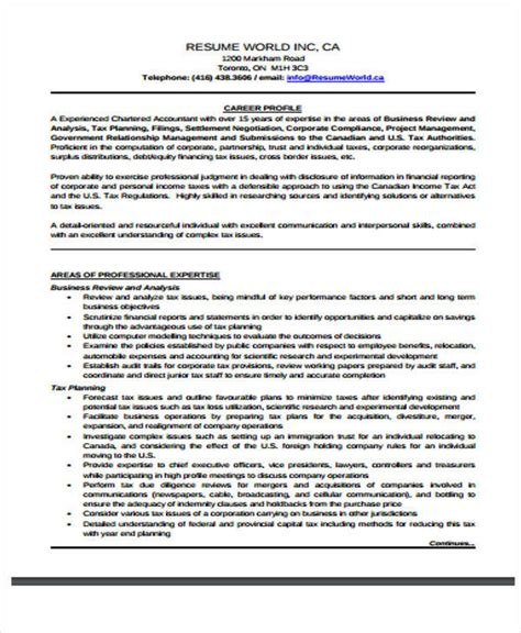 20248 free accountant resume 30 free accountant resumes sle templates
