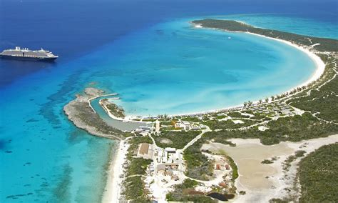 Half Moon Cay (Bahamas private island) cruise port ...