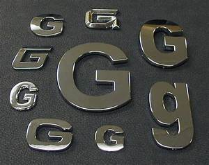 image gallery automotive lettering With chrome car emblem letters