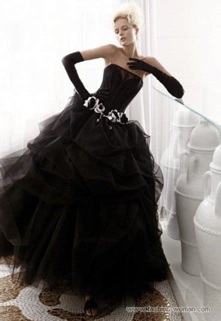 Black Girl Wedding Dress Meme - picture of stylish and dramatic black wedding dresses